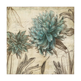 Blue Botanical I Giclee Print by Anna Polanski
