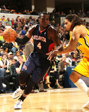 Apr 6, 2014, Atlanta Hawks vs Indiana Pacers - Paul Millsap Photographic Print by Ron Hoskins