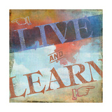 Live and Learn Poster autor Sloane Addison