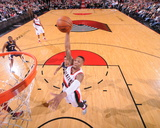 Apr 6, 2014, New Orleans Pelicans vs Portland Trail Blazers - Damian Lillard Photo by Sam Forencich