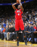 Mar 7, 2014, Atlanta Hawks vs Golden State Warriors - Paul Millsap Photo by Rocky Widner