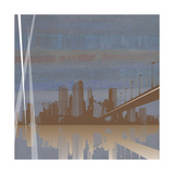 City Scape Giclee Print by Sloane Addison