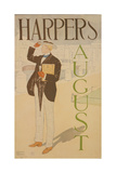 Harpers August Giclee Print