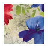 Indigo Flower II Giclee Print by Sloane Addison