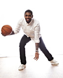 NBA All-Star Portraits 2014: Feb 13 - Kyrie Irving Photographic Print by Jennifer Pottheiser
