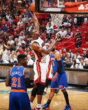 Apr 6, 2014, New York Knicks vs Miami Heat - Chris Bosh Photographic Print by Nathaniel S. Butler