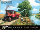 Foden 1926 Steam Wagon Plakietka emaliowana autor Kevin Walsh