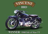 Vincent Hird Plaque en métal