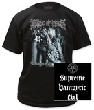Cradle of Filth - Supreme Vampyric Evil T-shirts