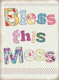 Bless this Mess Blikkskilt