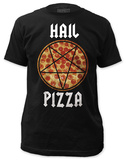 Hail Pizza (slim fit) T-shirts