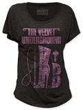Juniors: Velvet Underground - Domination (dolman) Shirts