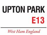 Upton Park Tin Sign