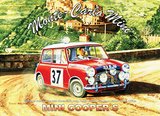 Monte Carlo Mini Plåtskylt av Trevor Mitchell