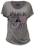 Juniors: Pink Floyd - U.S. Tour 1972 (dolman) T-shirt