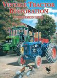 Vintage Tractor Restoration Tin Sign by Trevor Mitchell