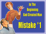 Mistake 1 Blikskilt
