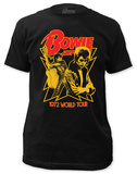 David Bowie - 1972 World Tour (slim fit) T-Shirt