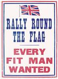 Rally Round the Flag Plakietka emaliowana