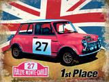 "Mini Cooper ""S"" 1st Place Blechschild"
