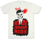 Misfits - Ride Johnny Ride (slim fit) Trička
