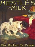 Nestle Milk Blechschild