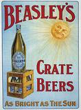 Beasleys Crate Beers Carteles metálicos