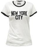 Juniors: New York City Ringer Tee Vêtements