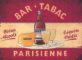 Tabac Tin Sign by Martin Wiscombe