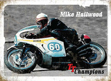 Mike Hailwood Cartel de chapa
