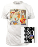 The Band - Big Pink (slim fit) T-shirts