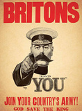 Britons Want You Plakietka emaliowana
