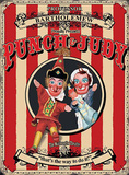 Punch & Judy Carteles metálicos