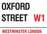Oxford Street Tin Sign