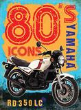 80's Icons - Yamaha Plakietka emaliowana