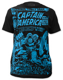 Captain America - Madbomb (slim fit) T-shirts