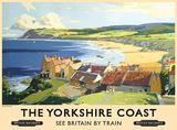Küste von Yorkshire Blechschild