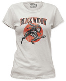 Juniors: Black Widow - Widow Run T-shirts