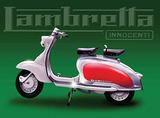 Lambretta Innocenti Tin Sign