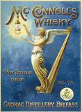 McConnells whisky Cartel de metal