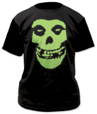 Misfits - Glow in the Dark Skull T-Shirt