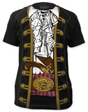 Pirate Prince Costume Tee (slim fit) T-skjorter