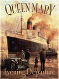 Queen Mary Plaque en métal par Kevin Walsh