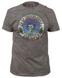 Grateful Dead - Skull & Roses Distressed (slim fit) T-Shirts