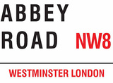 Abbey Road Tin Sign