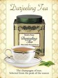 Darjeeling-Tee Blechschild