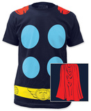Thor - Thor Suit with Cape (slim fit) T-shirts