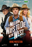 A Million Ways To Die in the West Affiches