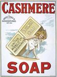 Cashmere Soap Plakietka emaliowana