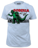 Godzilla - Air Strike (slim fit) T-shirts